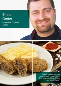 Turkish 'Lady's Thigh Meatballs from Emrah Onder of Ericsson